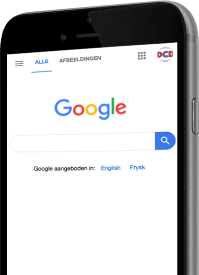 Google mobiele website